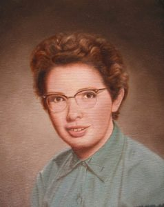 Oil painting: Portrait of a woman