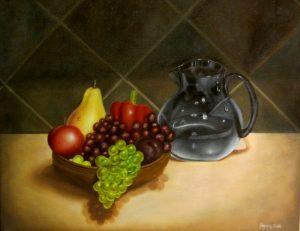 Oil painting: Still Life