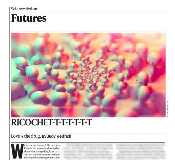 Short Story by Judy Helfrich: Richochet-t-t-t-t-t